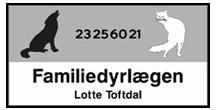 Familiedyrlægen logo